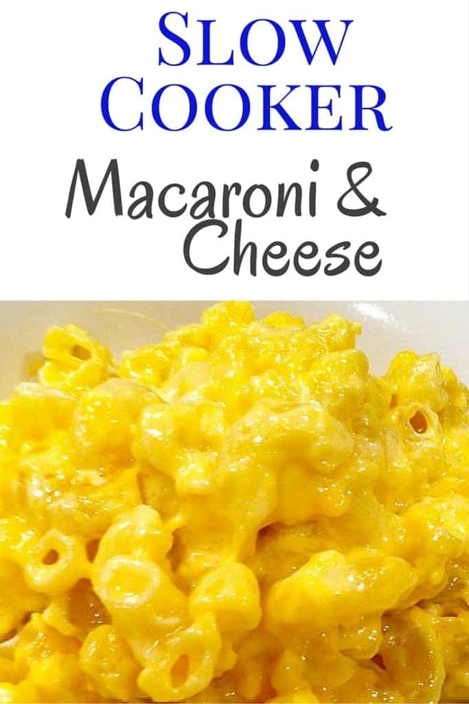 Slow Cooker Macaroni and Cheese - no pre-boiling necessery!