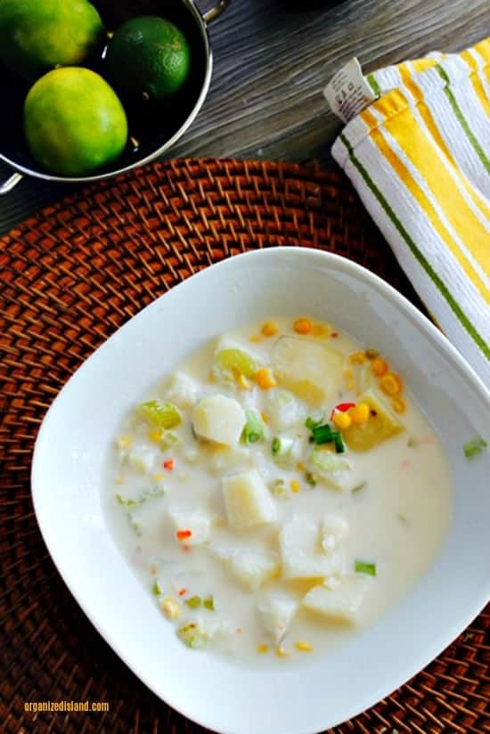 Easy Mexicorn Chowder recipe - perfect for cold days and evenings!