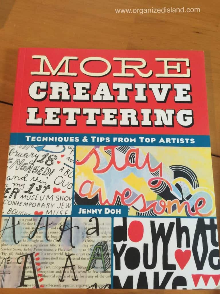Creative lettering is such a great skill to have. This book offers some inside as to the styles and techniques that make for wonderful decor.