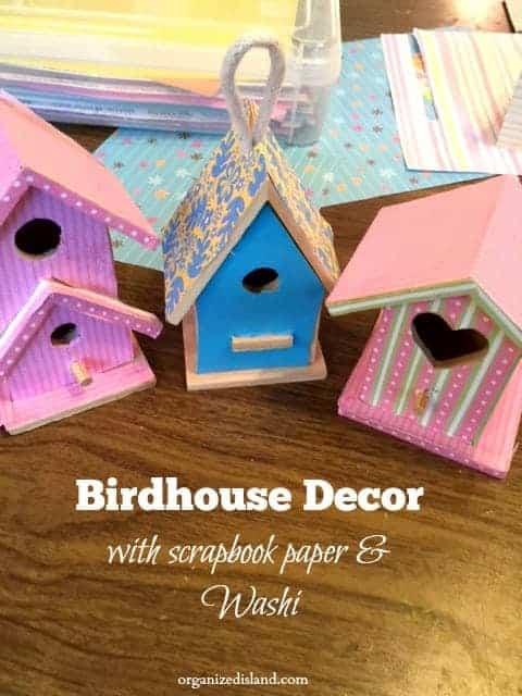 Decorating Bird Houses
