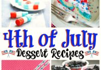 Desserts for the fourth of July party