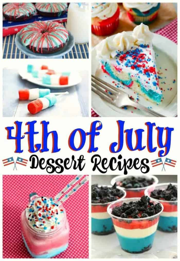 Desserts For Fourth of July Party