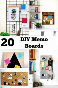 DIY-Memo Boards