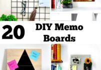 DIY-Memo Boards