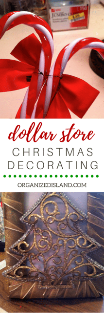 Fun ideas for dollar store Christmas decorations that are so cheap (and easy) to make)!