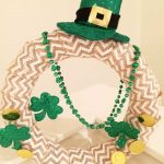 St Patricks Easy Craft Dollar Wreath