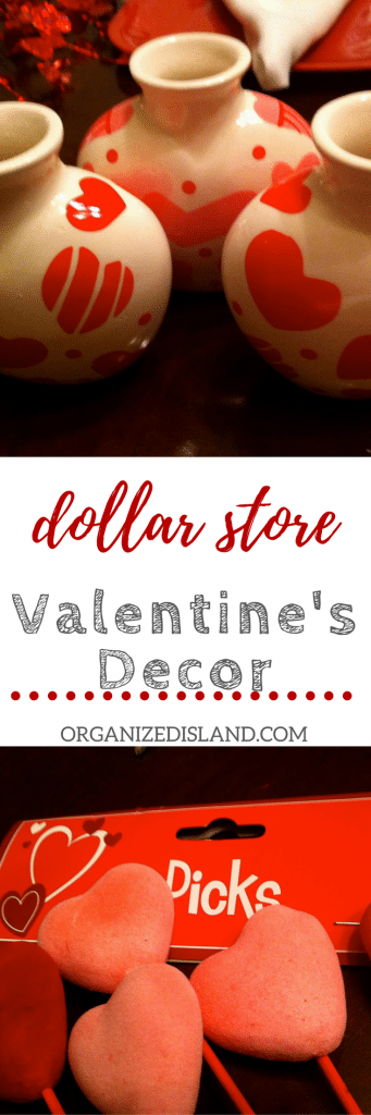 Dollar Store Valentine's Day Decor