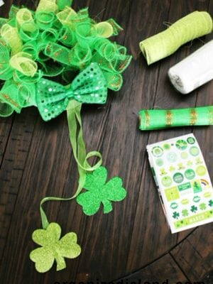 Dollar Store Holiday Crafts St. Patricks Day
