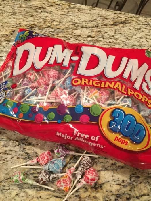 Dum Dums make great crafts!