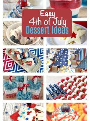 Patriotic Desserts for the 4th of July