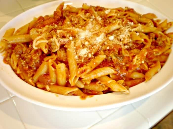 Easy Baked Penne Pasta recipe idea.