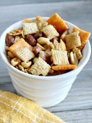 Savory Party Snack Mix