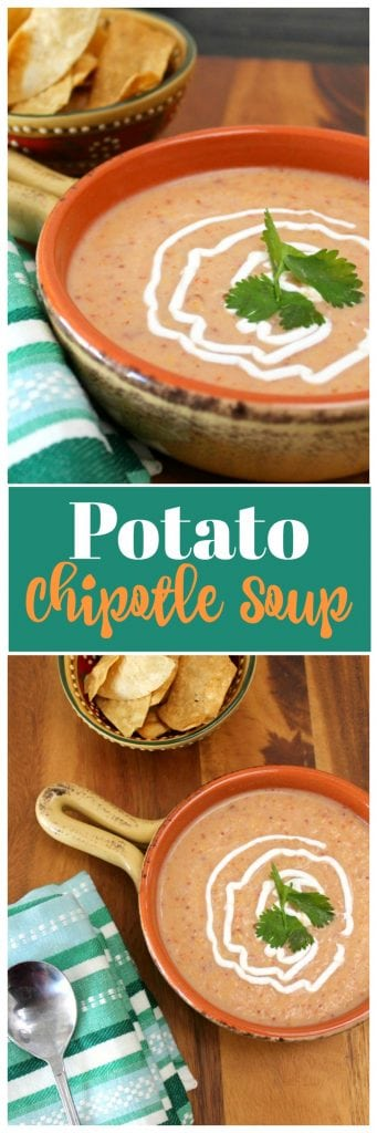 Potato Chipotle Soup Recipe