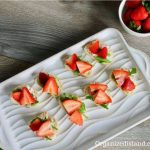 easy strawberry bruschetta with arugula