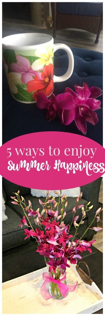 Keep that summer happiness feeling & enjoy the moments!