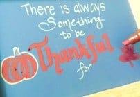 chakboard Art - a Fun way to bring fall indoors!