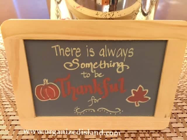 Chalkboard art for fall