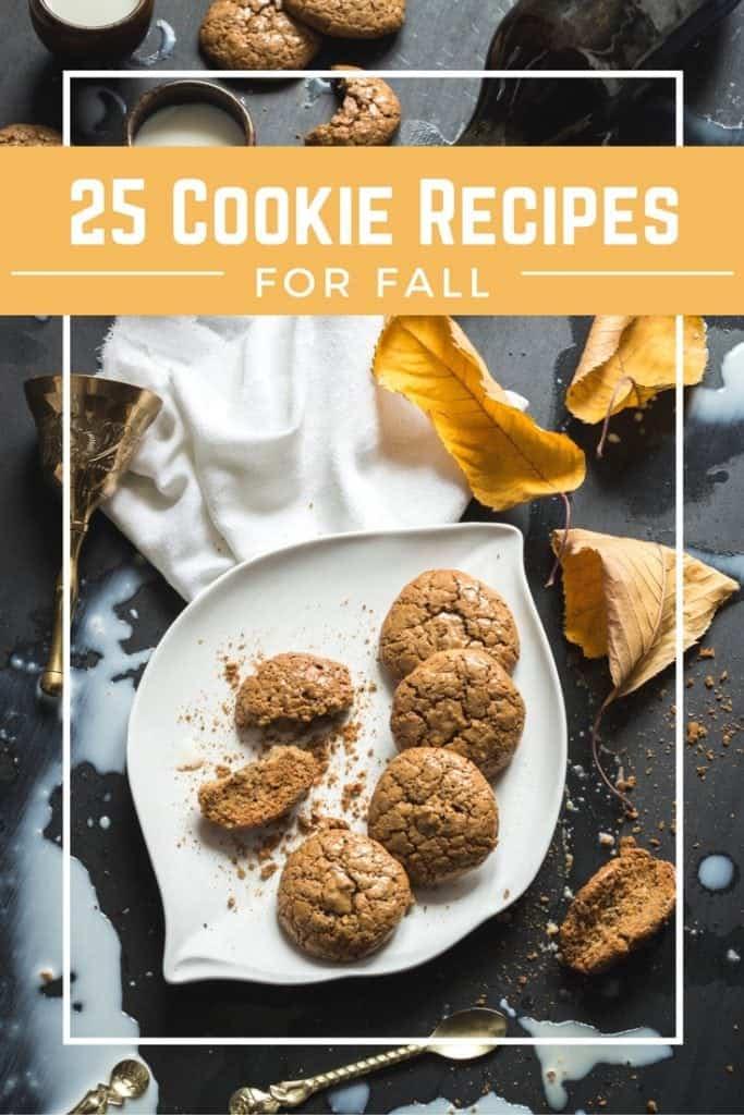 Fall Cookie recipes to Make Bake and Enjoy this season!
