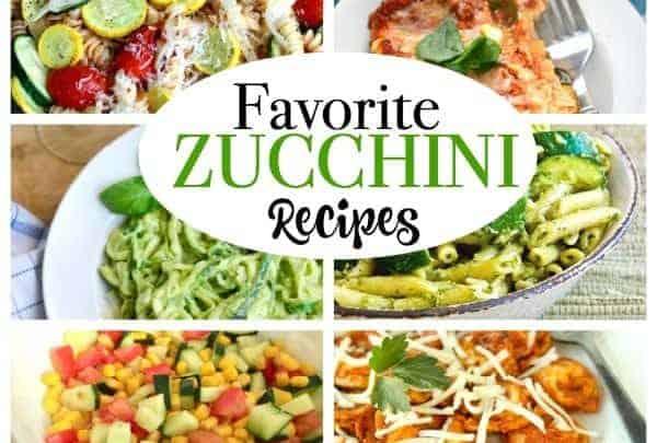 favorite zucchini recipes