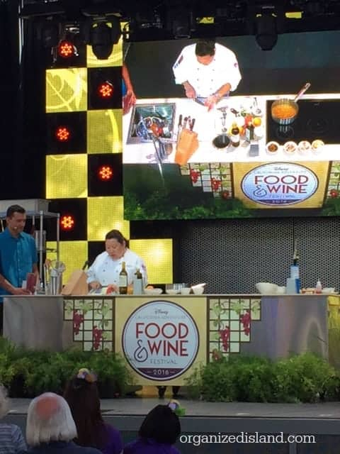Disney Food and Wine conference 2016
