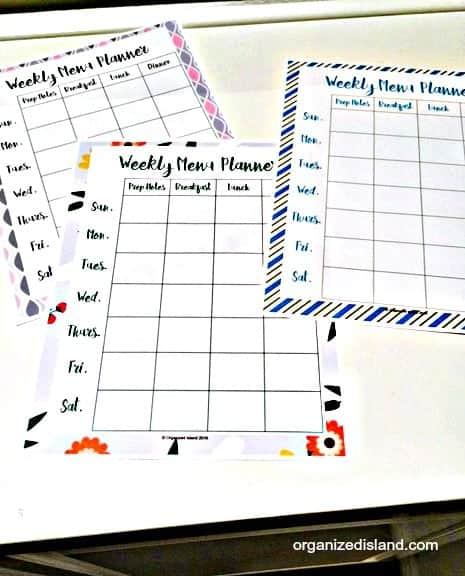 Grab these free meal planning printables and start the year more organized.