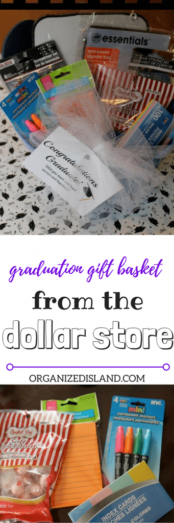 High School Graduation gifts do not have to be expensive. See what you can find at the dollar store!