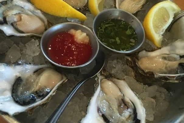 There is a great selection of Oysters at EMC
