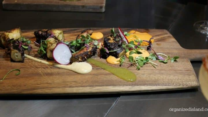 Grilled Octopus at Tempo Urban Kitchen - Great new restaurant in Brea!