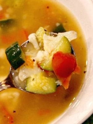 Weight Watchers Vegetable Soup Recipe