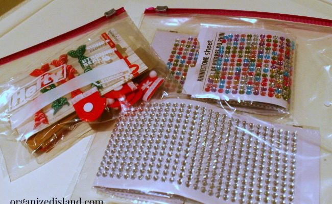 Organizing Holiday Craft Supplies with Hefty®