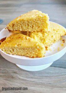 easy cornbread recipe from cornmeal