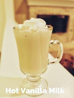 hot vanilla milk