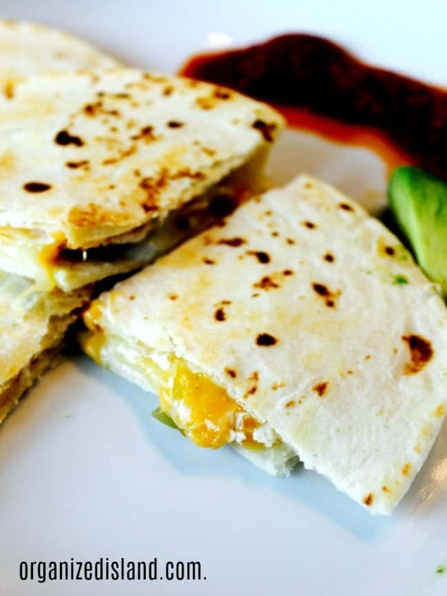 Chicken Chili Quesadilla recipe
