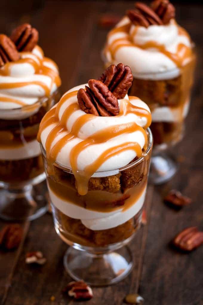 Thanksgiving desserts not pie.