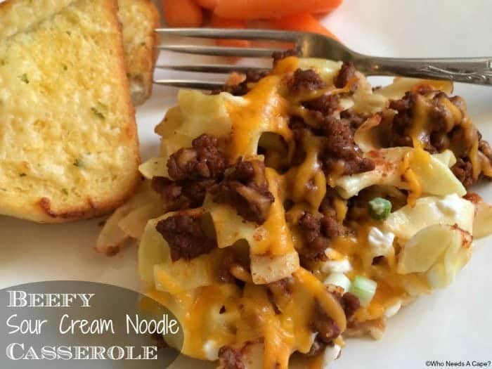 Simple ground beef dinner ideas for your recipe file!