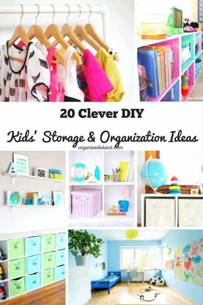 Kids Storage and Organization Ideas