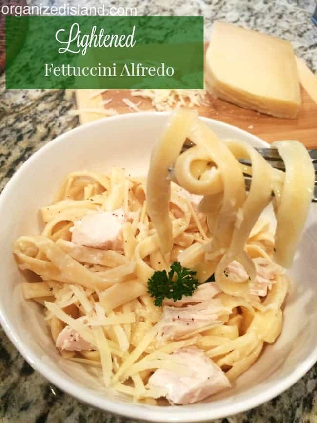 Looking for a weight watcher friendly pasta dish? This is a good one!