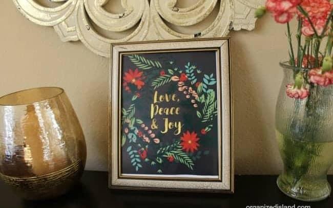 Free decorative Christmas Printable