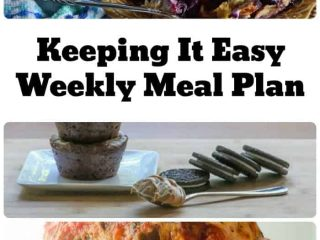 Keeping it easy meal plan for winter
