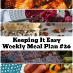 Meal Plan Ideas for the Week