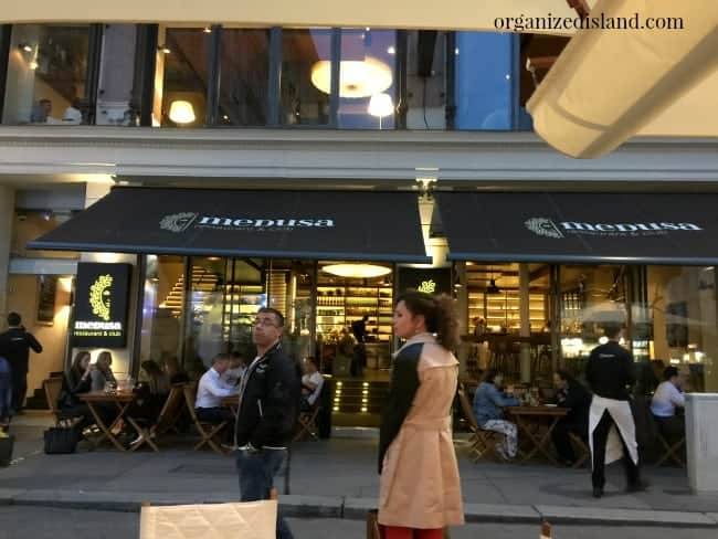 Medusa Restaurant in Vienna - one of the Vienna restaurants I recommend