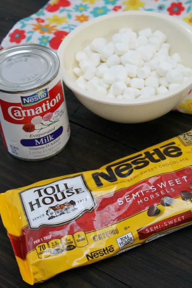 "This Mexican Hot Chocolate fudge is the perfect ""easy"" dessert for the holidays!"