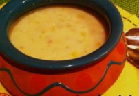 Looking for a hearty soup? This Mexicorn chowder recipe is so easy and the spice warms up dinner nicely!