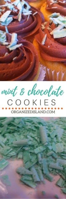 In the mood for mint and chocolate? Try these easy cupcakes (made with a cake mix) with tasty mint curls.