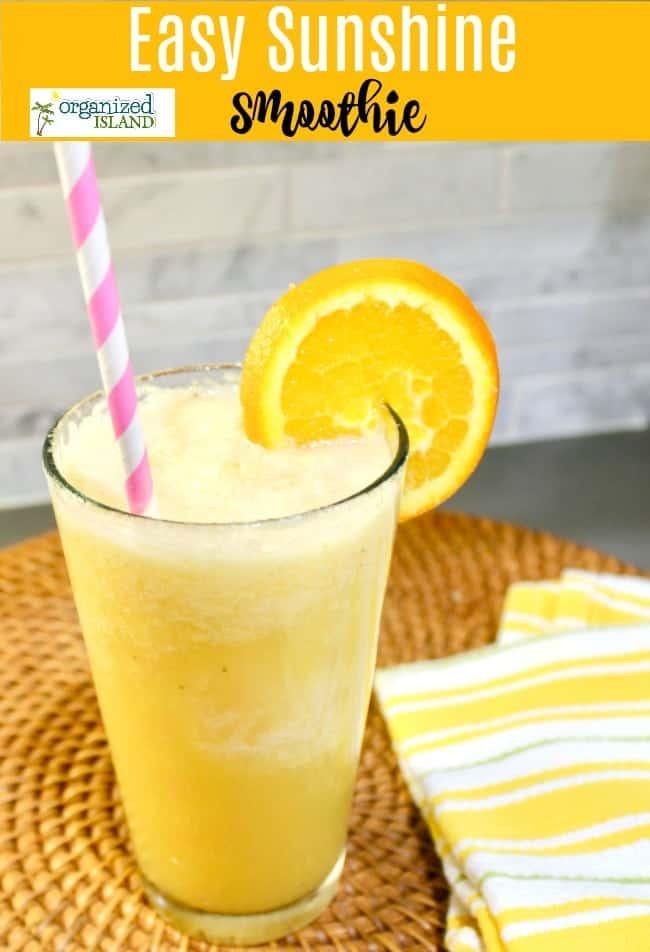smoothie recipe with orange juice no yogurt