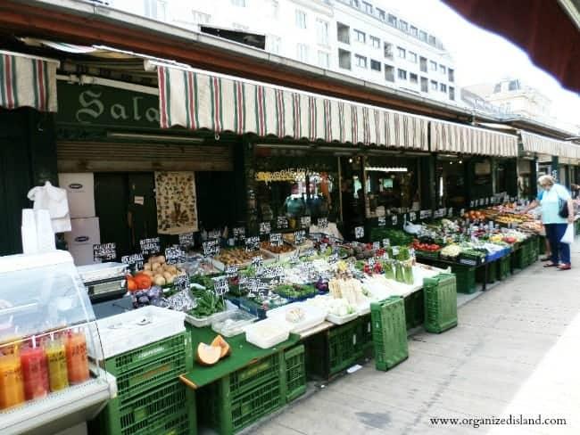 Nashchmarkt in Vienna