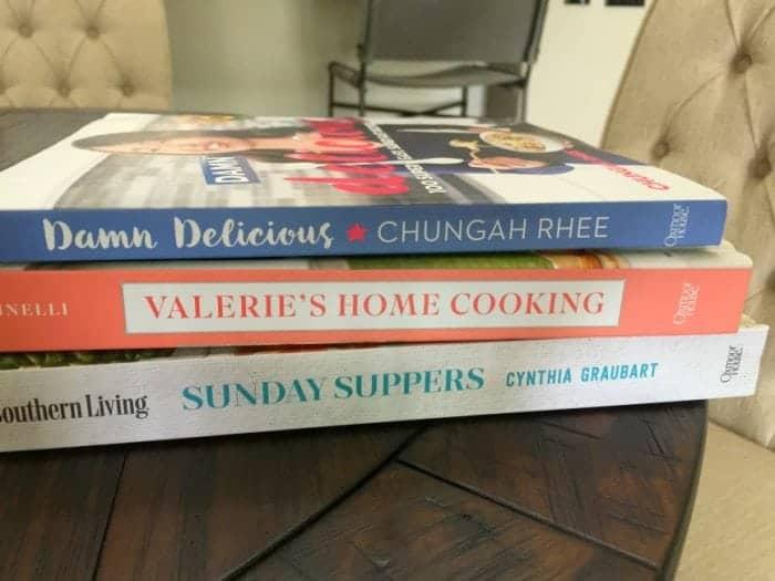 New Cookbooks 2018