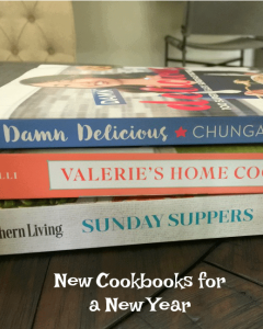 New cookbooks fro 2018