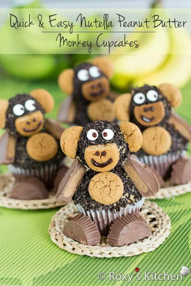 nutella-peanut-butter-monkey-cupcakes-16-title