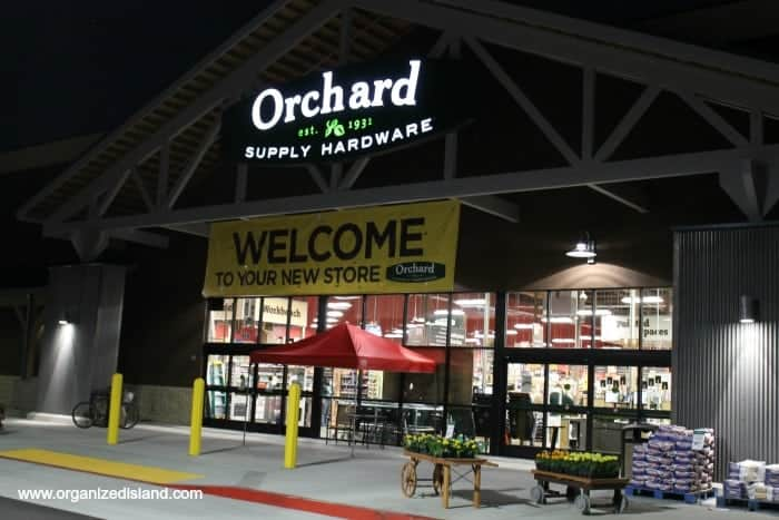 Orchard Supply for spring items!